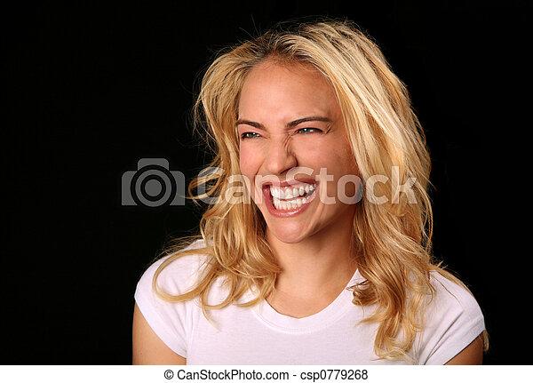Good Honest Laugh - csp0779268