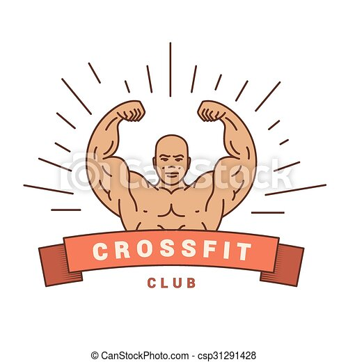 good logo for Cross Fit. - csp31291428