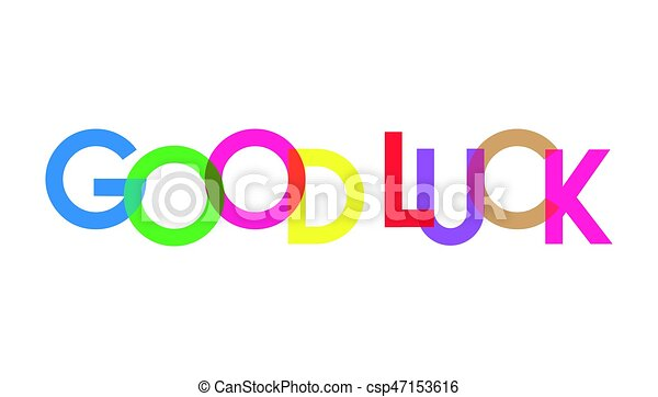 good luck managemant full color background vector clip art search rh canstockphoto ca good luck clipart animated good luck clipart gif