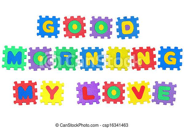good morning my love csp16341463