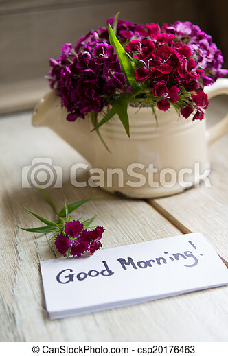 Good morning note - csp20176463