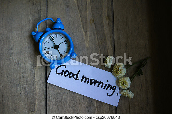Good morning note - csp20676843