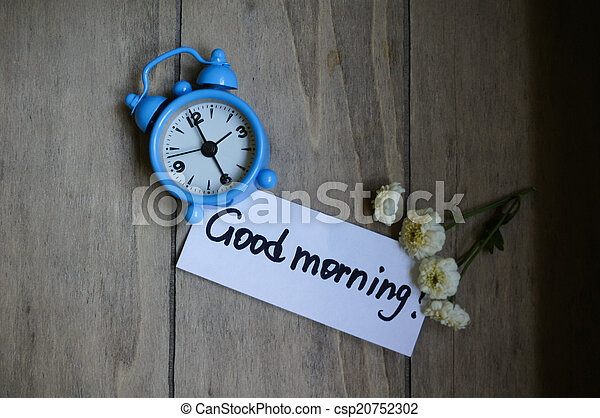 Good morning note - csp20752302