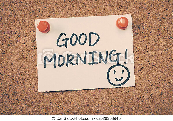 Good Morning - csp29303945