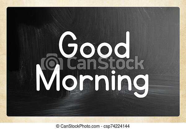 good morning - csp74224144
