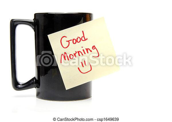 Good Morning - csp1649639