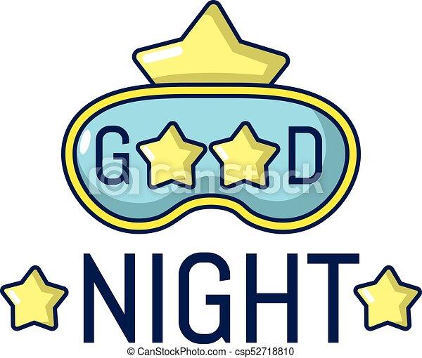 good night icon cartoon style good night icon cartoon vector rh canstockphoto com good night clip art free good night love clip art