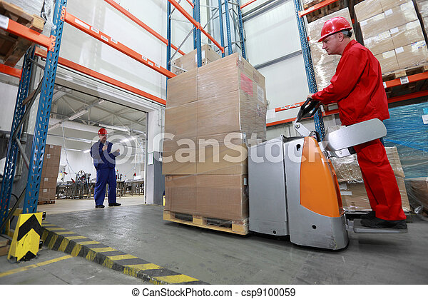 goods delivery in plant - csp9100059