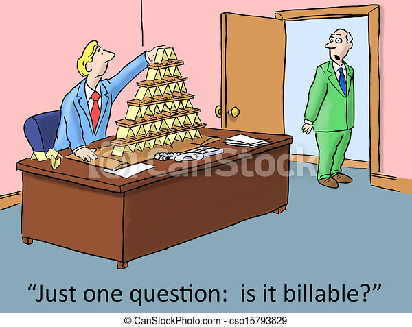 goofing off at work just one question is it billable