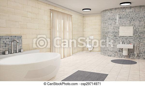 Gordijnen Voor Badkamer : Gordijnen badkamer tapijt kuip bad