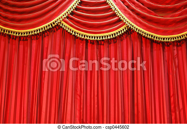 Gordijnen, theater. Gordijnen, fluweel, achtergrond,... stockfoto ...
