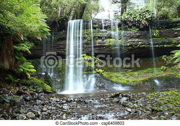 Gorgeous Russel Falls - csp6409803