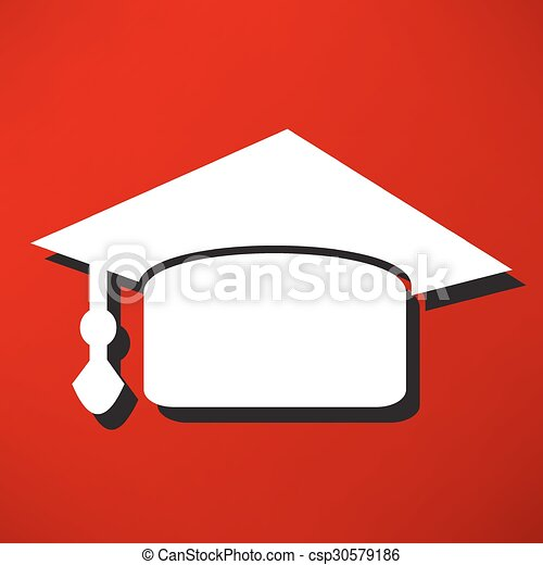 La gorra de graduación - csp30579186