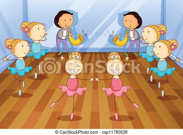 gosses, danse - csp11780528