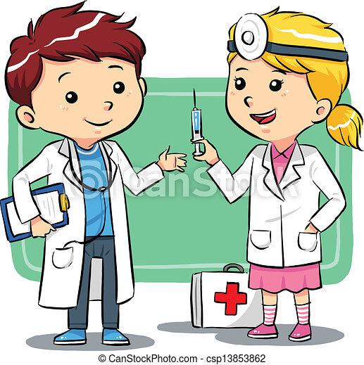 gosses, docteur - csp13853862