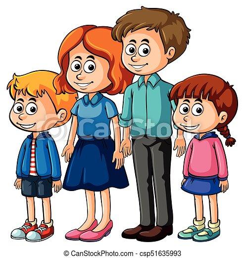 gosses, parents, famille - csp51635993
