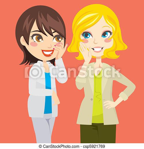 gossiping, 女性 - csp5921769