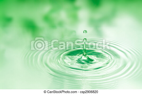 gota agua - csp2906820