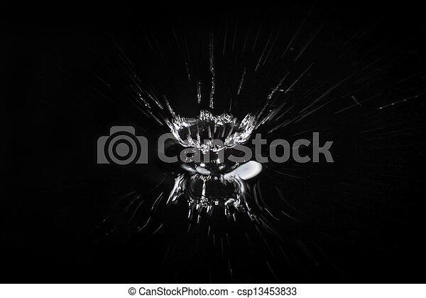 gota agua - csp13453833