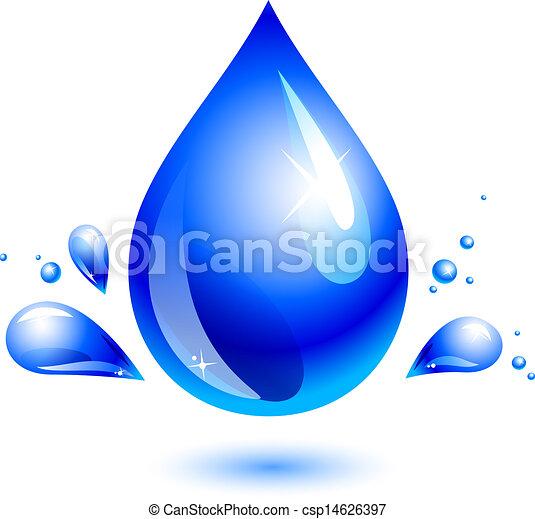 Una gota de agua - csp14626397