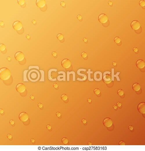 Gotas de agua - csp27583163
