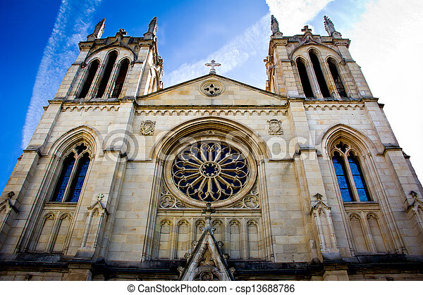 Gothic cathedral - csp13688786