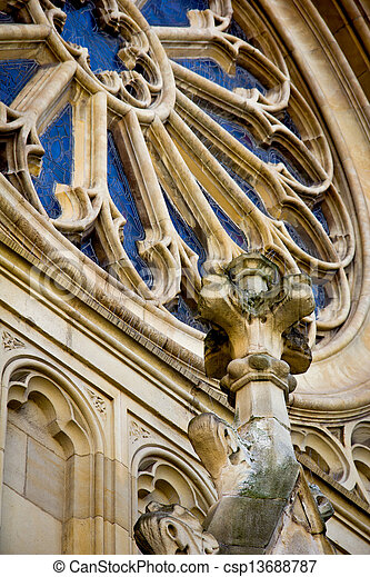 Gothic cathedral - csp13688787