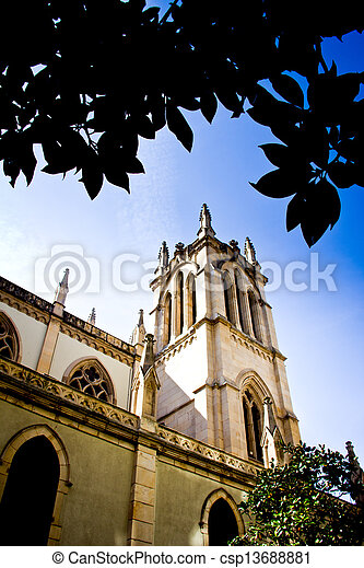 Gothic cathedral - csp13688881
