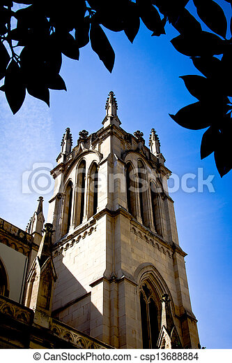 Gothic cathedral - csp13688884