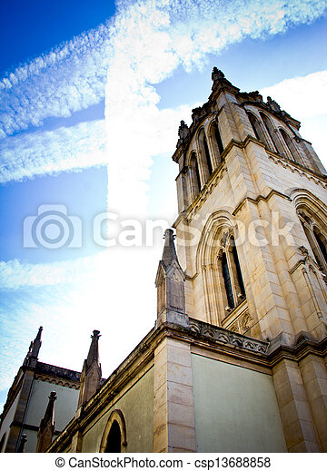 Gothic cathedral - csp13688858