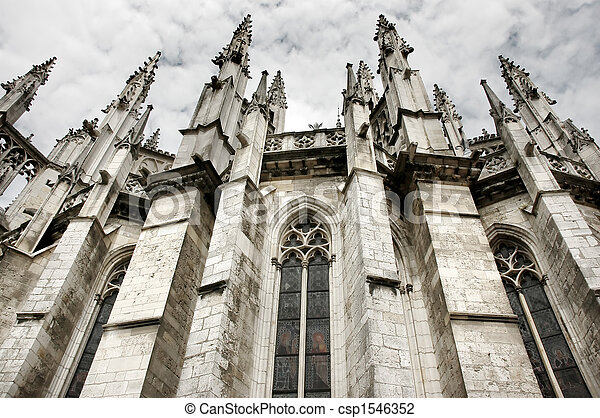 Gothic cathedral - csp1546352