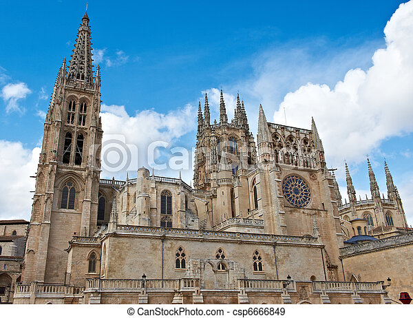 Gothic Cathedral - csp6666849