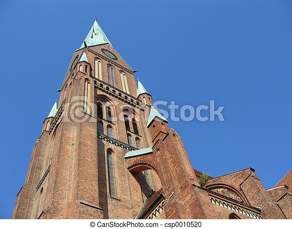 Gothic Cathedral - csp0010520