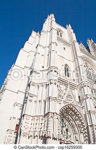 Gothic cathedral - csp16259300