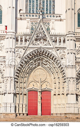 Gothic cathedral - csp16259303