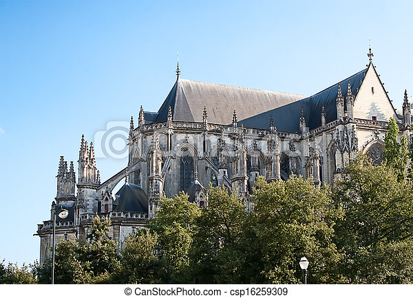Gothic cathedral - csp16259309