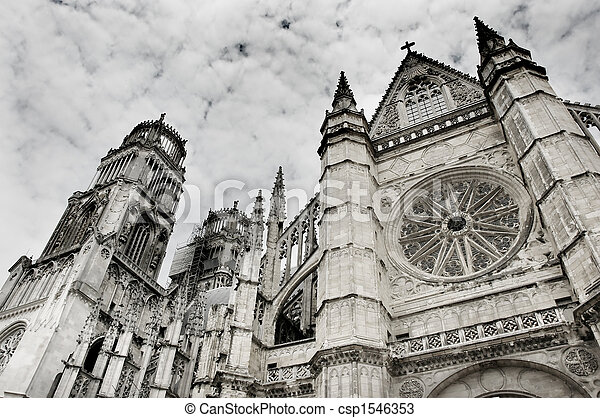Gothic cathedral - csp1546353