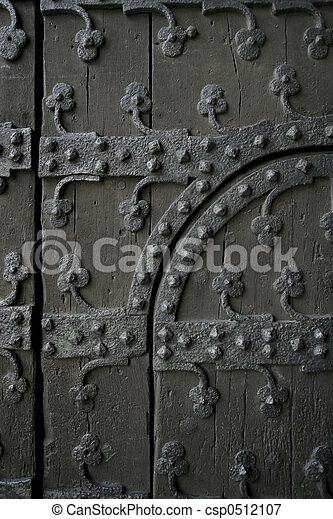 Gothic door - csp0512107