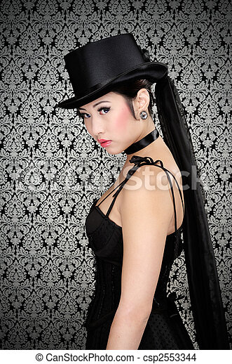 Asian girl gothic pictures