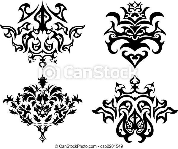 gothic emblem set - csp2201549
