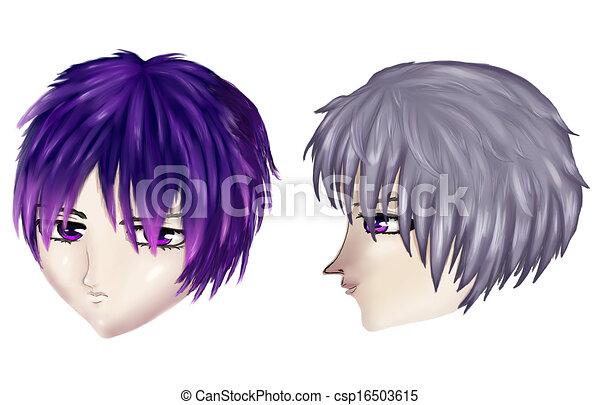Fantastic Gothic Male Haircuts Male Gothic Haircuts In Anime Manga Style Natural Hairstyles Runnerswayorg