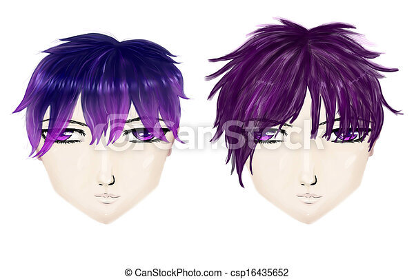 Admirable Gothic Male Haircuts Male Gothic Haircuts In Anime Manga Style Natural Hairstyles Runnerswayorg