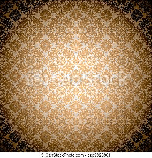 Gothic Orange Wallpaper Orange Wallpaper Seamless Abstract Gothic