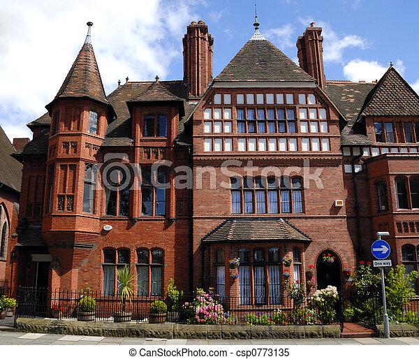 Gothic Style English House