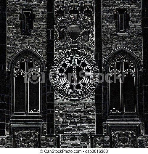 Gothic Time - csp0016383