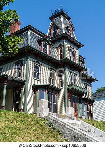 Gothic Victorian Home - csp10655586