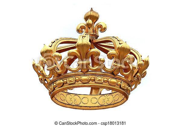 gouden kroon - csp18013181