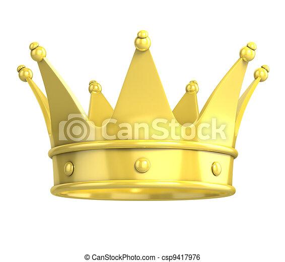 gouden kroon - csp9417976