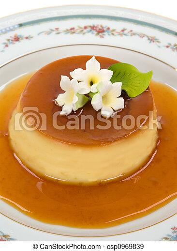 gourmet, dessert - csp0969839