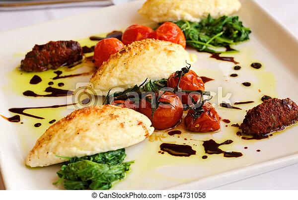 Gourmet Italian Gnocchi Dinner - csp4731058